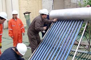 mantenimiento a un boiler solar