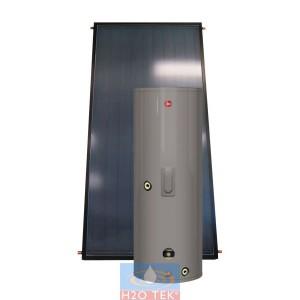 Boiler solar híbrido (solar-eléctrico) capacidad 80 galones