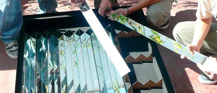 Cómo construir un calentador solar y emplazarlo